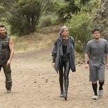 Photo Derek Wilson, Eliza Coupe, Josh Hutcherson