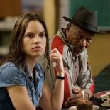 photo, Hilary Swank, Morgan Freeman