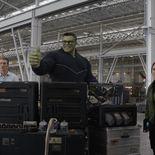 photo, Mark Ruffalo, Scarlett Johansson, Chris Evans