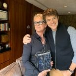 photo, Jason Blum, Jamie Lee Curtis