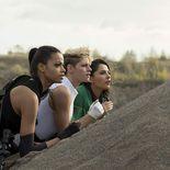 photo, Ella Balinska, Naomi Scott, Kristen Stewart