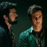 photo, Jack Quaid, Karl Urban