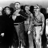 photo, John Fergusson, George Burr Macannan, Claude Morgan, Frederick Peters