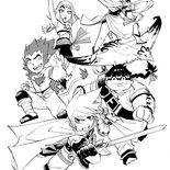 Les Légendaires Saga - Manga