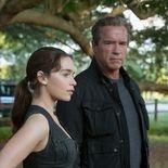 photo, Emilia Clarke, Arnold Schwarzenegger