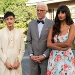 Photo Manny Jacinto, Ted Danson, Jameela Jamil