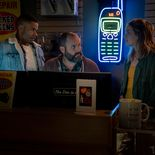 photo, Jordan Calloway, Tom Segura, Elizabeth Lail