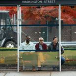 photo, Alan Arkin, Mark Wahlberg, Winston Duke