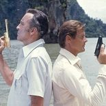 photo, Christopher Lee, Roger Moore