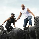 photo, Nathalie Emmanuel, Vin Diesel