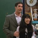 photo, David F. Schwartz, David Schwimmer, Lauren Tom