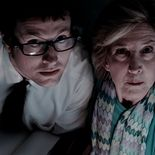 photo, Lin Shaye, Leigh Whannell