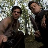 photo, Eli Roth, Brad Pitt