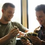 photo, Jonathan Groff, Russell Tovey
