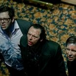 photo, Simon Pegg, Nick Frost, Paddy Considine