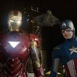 photo, Chris Evans, Robert Downey Jr.