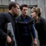 photo, Miles Teller, Theo James, Shailene Woodley