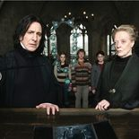 photo, Maggie Smith, Alan Rickman