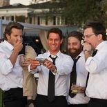 photo, Ed Helms, Bradley Cooper, Justin Bartha