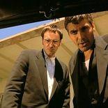 photo, Quentin Tarantino, George Clooney
