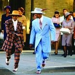 photo, Spike Lee, Denzel Washington