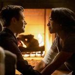 photo, Grant Gustin, Candice Patton, The Flash