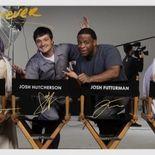 Photo Eliza Coupe, Josh Hutcherson, Derek Wilson