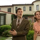 photo, Jesse Eisenberg, Kristen Stewart