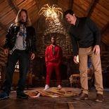 Photo Chris Wylde, , Andrew Bachelor, Ken Marino