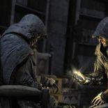 Altaïr (mort) et Ezio (vieux)