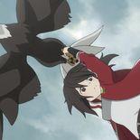 Rikka Isurugi et son aigle drone