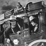 photo, Claire Trevor, John Wayne