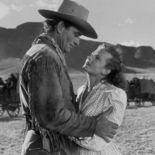 photo, John Wayne, Coleen Gray
