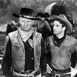 photo, John Wayne, Montgomery Clift