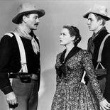 photo, John Wayne, Claude Jarman Jr., Maureen O'Hara