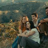 Photo Melissa George, Logan Polish, Gabriel Bateman, Justin Theroux