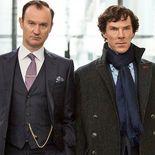 photo, Mark Gatiss, Benedict Cumberbatch