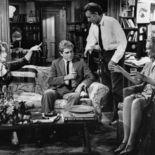 photo, George Segal, Elizabeth Taylor, Richard Burton, Sandy Dennis