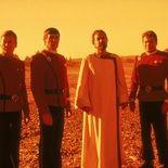 photo, Leonard Nimoy, DeForest Kelley, William Shatner