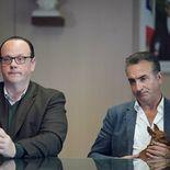 photo, Grégory Gadebois, Jean Dujardin