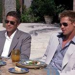 photo, George Clooney, Brad Pitt
