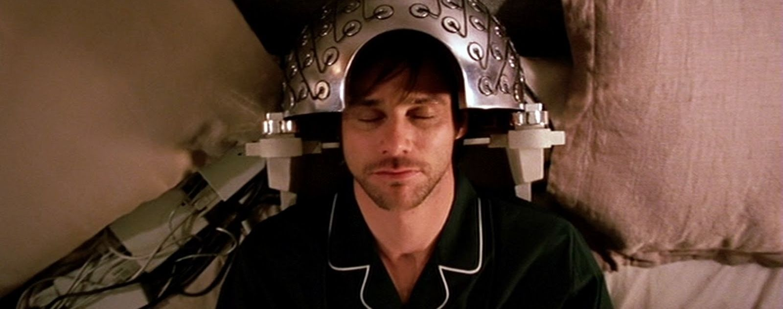 Jim Carrey dans Eternal Sunshine of the Spotless Mind