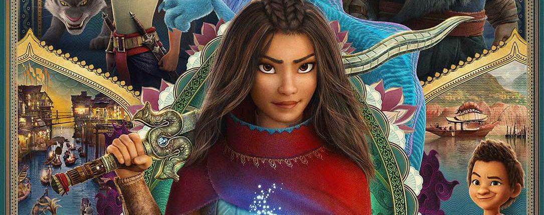 Entre la Covid et Disney+, Raya et le dernier dragon déçoit pour son démarrage au box-office - ÉcranLarge.com