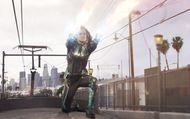 Captain Marvel : Scène du train