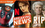 Disney+ : cher et + cool, NETFLIX se paye TOMB RAIDER et les gamers, hommage à CLORIS LEACHMAN