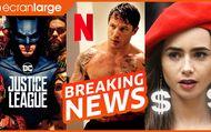 Justice League : : le chaos révélé, Tom hardy prêt pour la baston, corruption sur Netflix et Emily in Paris ?
