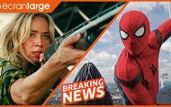 Sans un bruit 2 : et Friends cartonnent le box-office, Spider-Man : No Way Home a envie de multivers