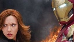 photo, Scarlett Johansson, Robert Downey Jr.