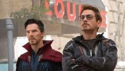 Photo Robert Downey Jr., Mark Ruffalo, Benedict Cumberbatch