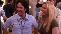 photo, Paul Rudd, Lisa Kudrow